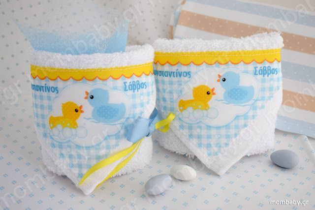 Mombaby | Personalised Christening Favours & Gifts: Βάπτιση με θέμα τα Παπάκια