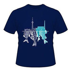 Fish Shoreline T-shirt
