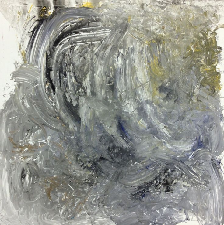Untitled, 85x85cm, Mixed media on canvas, 2015