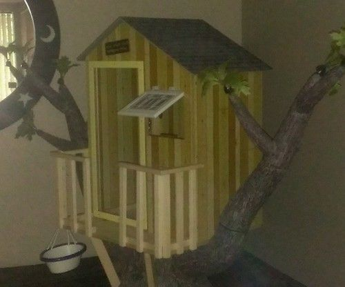 17 best images about tree houses on pinterest kid tree for Treehouse kits do it yourself