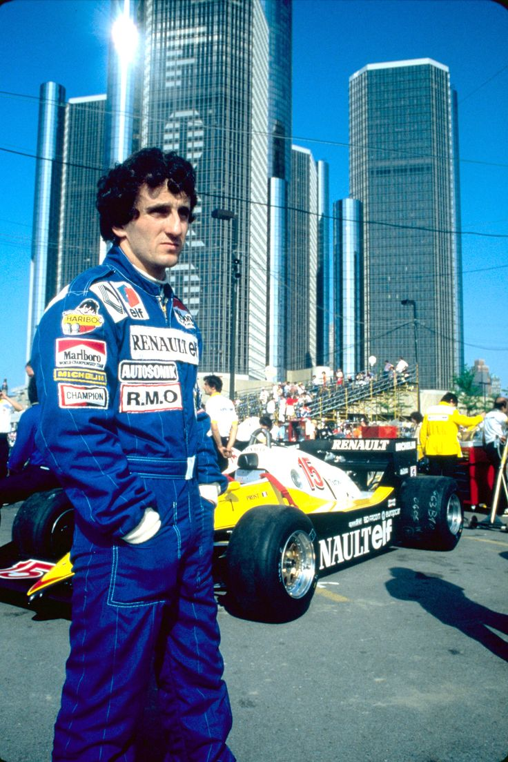 1983 Renault RE40 USA GP Prost