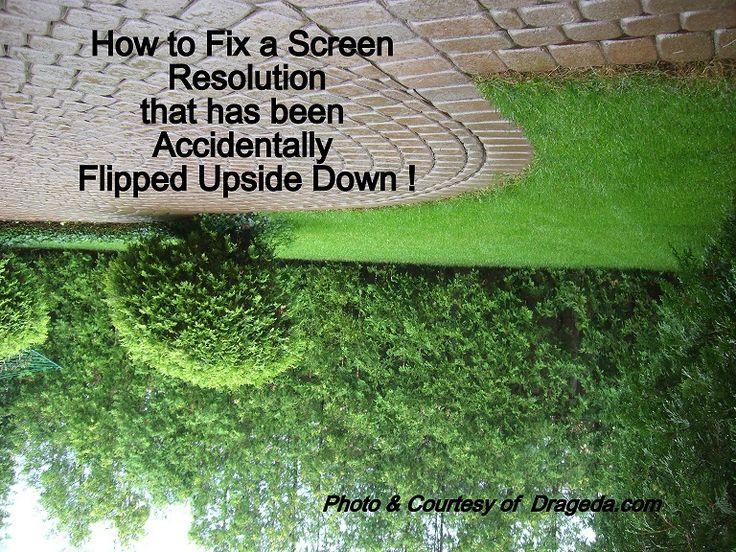 how to turn screen upside down on chromebook