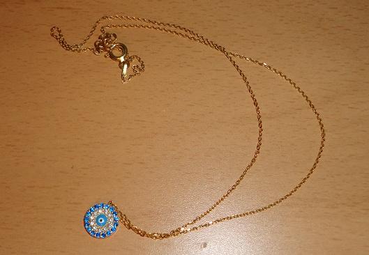 """gift for Christmas - a greek """"mataki''"""