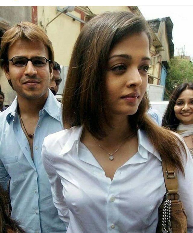 Aishwarya With Vivek Oberoi Behind Indian Actress Hot Pics Bollywood Indian Actresses