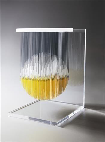 Esfera Theospacio, Artist: Jesus Rafael Soto  Completion Date: 1989  Style: Kinetic Art  Genre: sculpture