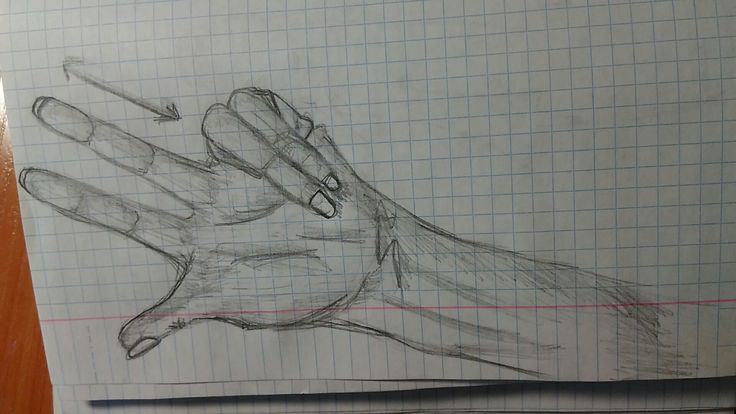 Рисуем руку