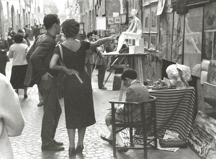 Mario Carbone. Via Margutta, Rome, 1950s. [::SemAp FB || SemAp G+::]