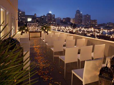 Hotel Adagio Marriott San Francisco Wedding Venues 94102