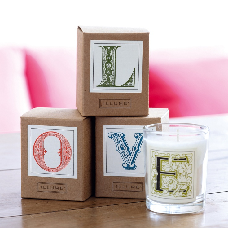 Initial letter candles: Letters Candles, Initials Letters