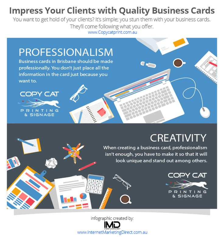November - Impress Your Clients with Quality Business Cards