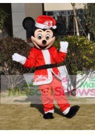 Costume de Déguisement Mickey Mouse Père Noël Masc...