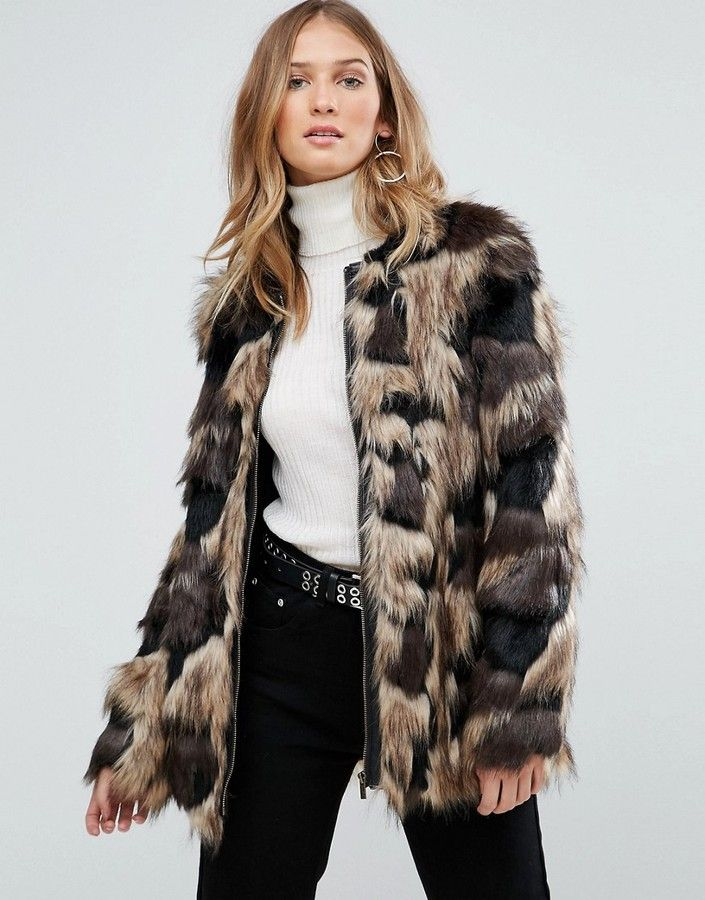 Pepe Jeans Broomfield Faux Fur Coat http://shopstyle.it/l/mYh9 #fashion #style #beauty #hair #makeup #outfit #winteroutfit #winter #winterfashion #jacket #sweater #jumper