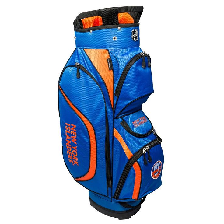 Team Golf New York Islanders Clubhouse Golf Cart Bag, Multicolor