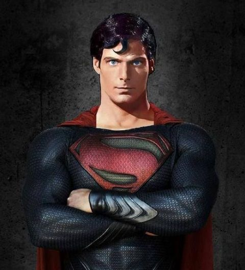 Christopher Reeve Man of Steel  Love Henry Cavill as Superman,but Christopher's version will always be special to me.