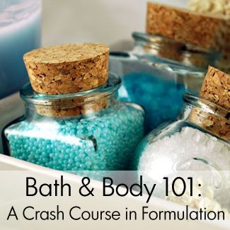 Bath & Body 101--very extensive list of DIY beauty tutorials and tips! From The Natural Beauty Workshop