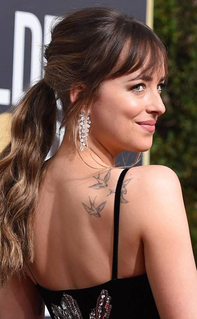 Dakota Johnson: Best Beauty at the 2018 Golden Globes