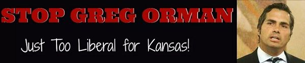 """You've heard about the Kansas Supreme Court's decision to allow Democrats to have their failed candidate removed from the ballot so they can unite support around self-described """"independent"""" candidate Greg Orman (who is actually a campaign donor to Barack Obama, Harry Reid, Al Franken, Hillary Clinton and other Democrats).  Now the media is gloating the 'good news' for their liberal candidate, Greg Orman. http://us8.campaign-archive2.com/?u=bbf02ce69b92dd5b8b543a078&id=6dfbc2f0c7"""