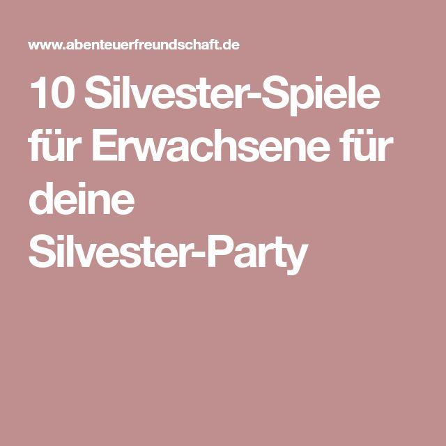 silvester spiele partyspiele