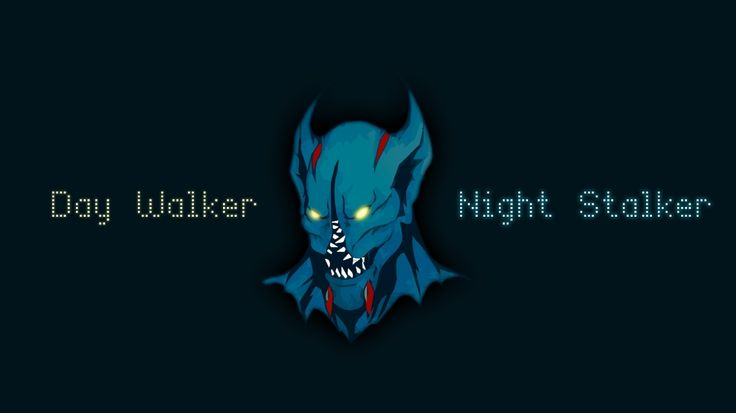 dota dota 2 day walker night stalker balanar 1366x768 wallpaper Wallpaper HD