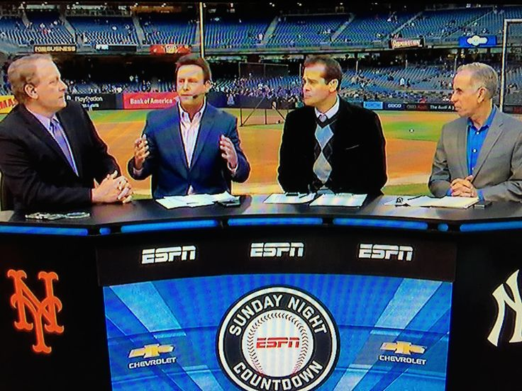 ESPN Baseball Tonight with Curt Schilling, Karl Ravish, Aaron Boone and Tim Kurkjian from Bronx, NY