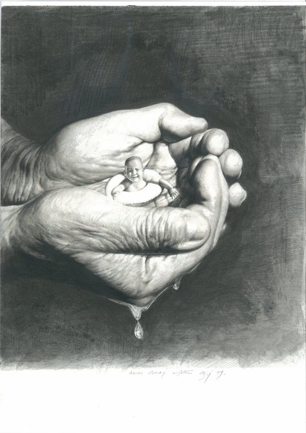 made by: Agim Sulaj - (little baby in hands)