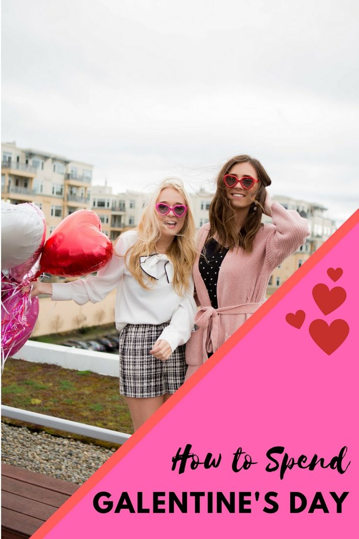 Are you planning your Valentine's Day with the girls this year? Check out some of my favorite Galentine's Day Ideas to make the most of your girls night out. (You'll probably have more fun than those with BF's!)