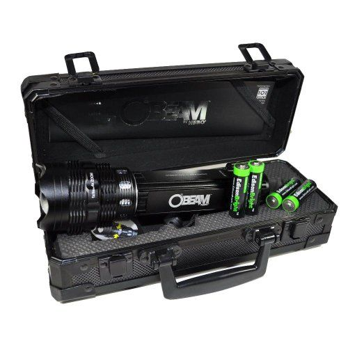 Nebo O2 Beam 420 Lumen LED flashlight in special gift case with 4 X EdisonBright AA alkaline batteries. 5 lighting modes. Zoom adjustable beam.  http://www.handtoolskit.com/nebo-o2-beam-420-lumen-led-flashlight-in-special-gift-case-with-4-x-edisonbright-aa-alkaline-batteries-5-lighting-modes-zoom-adjustable-beam/