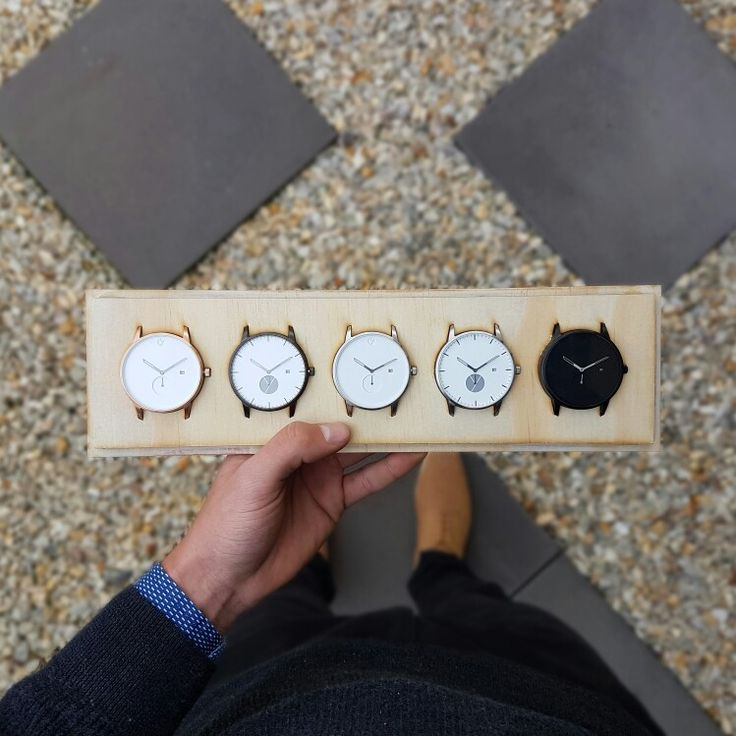 The first collection of WHY Watches