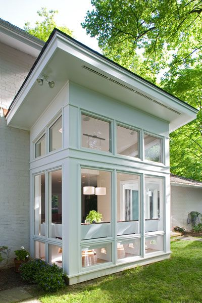Best 25 small sunroom ideas on pinterest sunroom office for Small home addition ideas