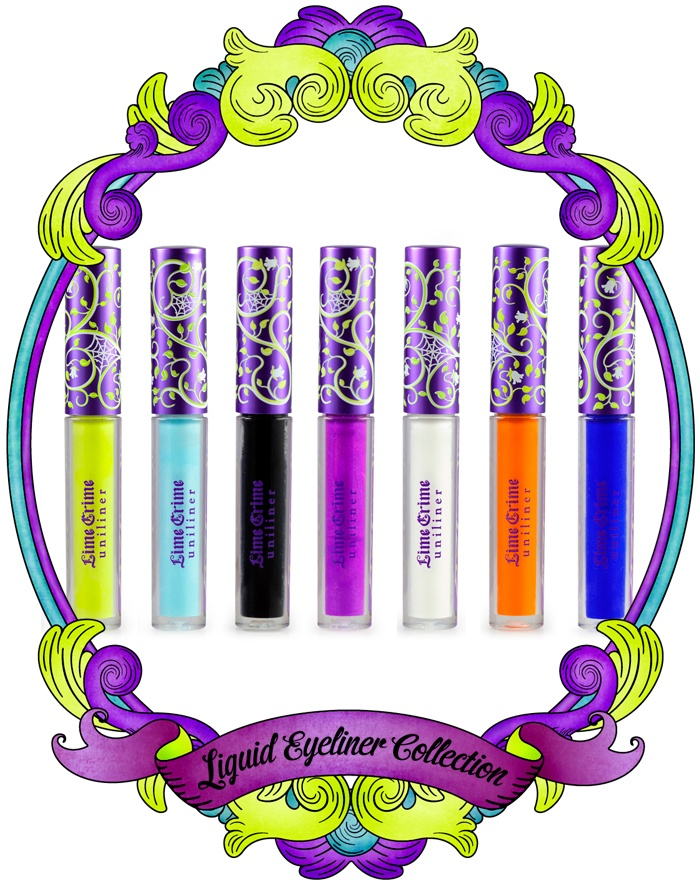 This eyeliner--> Lime Crime Uniliners. Vegan, cruelty free, highly pigmented fun, fun, fun colors! :-)