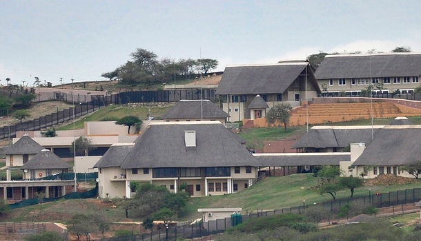 Zuma's Nkandla residence. | Photo: www.mg.co.za / Gallo