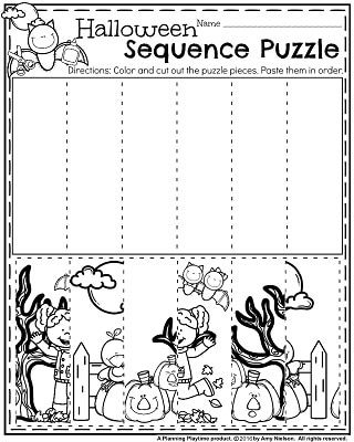 Number Names Worksheets » Halloween Fun Activity Sheets - Free ...