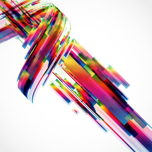 concept abstract colorful background