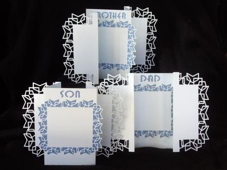 Family Fancy Folds 2 Cameo Ready - CUP707856_1577 | Craftsuprint