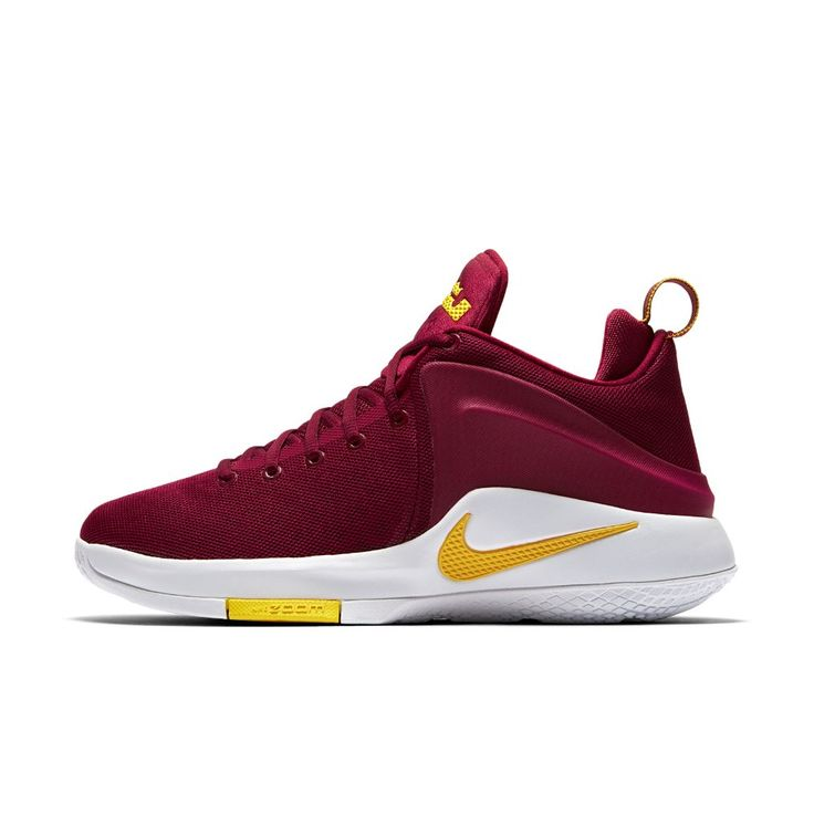Nike Lebron Witness Men's Basketball Shoe Size 10.5 (Red) - Clearance Sale