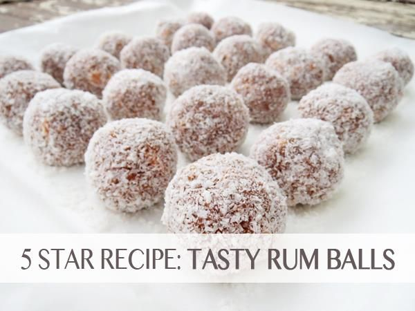 The festive season is fast upon us! Here's one of our most popular Christmas recipes »> Rum Balls.