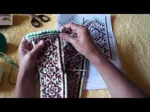 Вязание джурабов. Урок 6 - YouTube