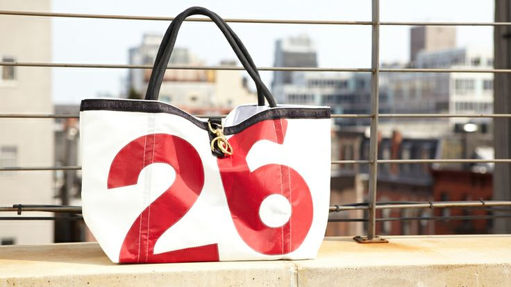 Ella Vickers | Sail Cloth Rope Tote | AHAlife - great gift idea and hard to find sometimes $138