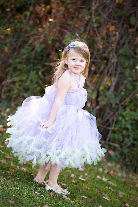 Lavender Tutu Dress by Atutudes - girl's 1st birthday party dress on Etsy, $79.95