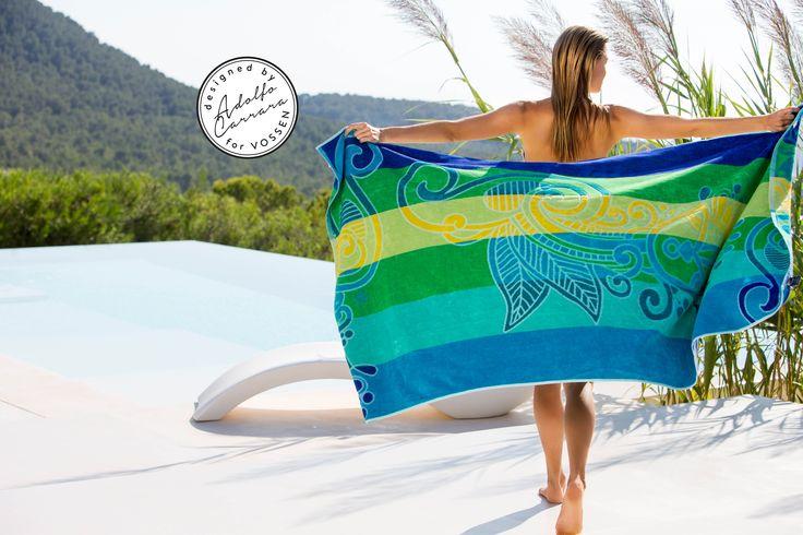 #vossentowels #beach #beachcollection #adolfocarrara #fashion