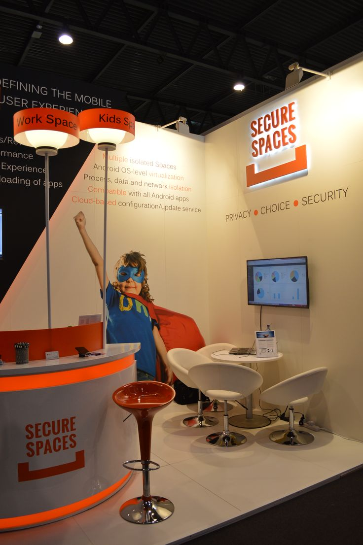 #MWC15 booth @Graphitesoft #SecureSpaces