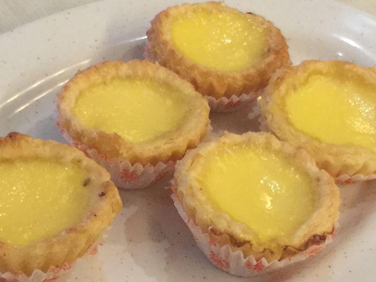 Malaysian Egg tart