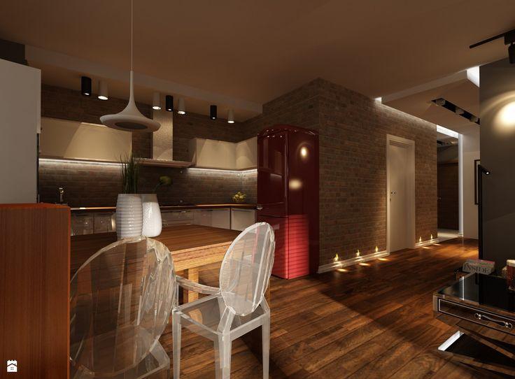 Projekt mieszkania w Krakowie - zdjęcie od Ciochoń - Studio - Kuchnia - Styl Nowoczesny - Ciochoń - Studio