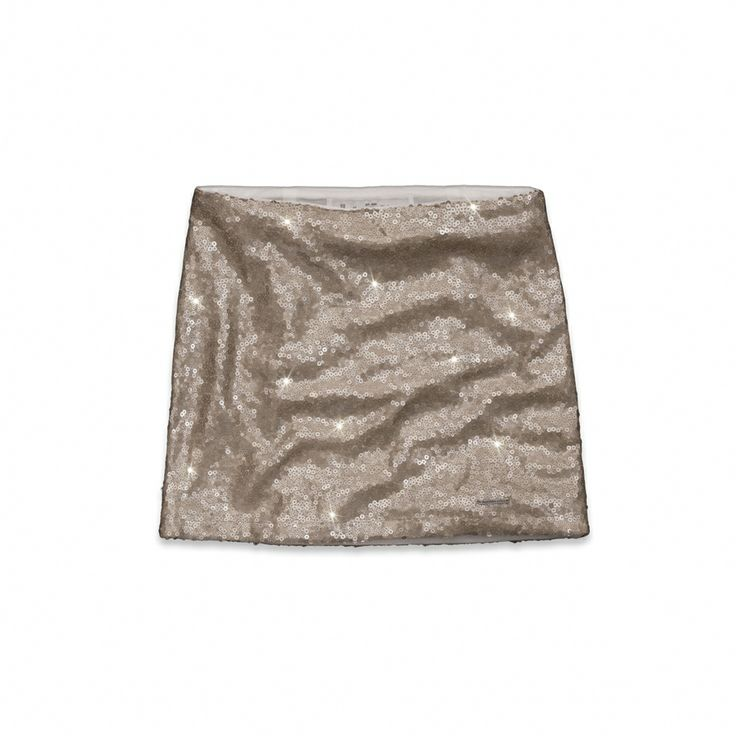 love this gold sparkly Angela skirt from Abercrombie and Fitch!