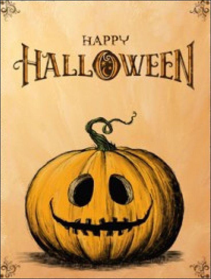 happy halloween pumpkin halloween happy halloween jack o lantern happy halloween quotes - Halloween Card Quotes