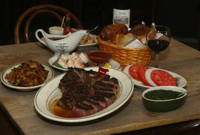 2. Peter Luger Williamsburg The ultimate classic. You want to know what a NY steakhouse is and should strive to be? This is it.
