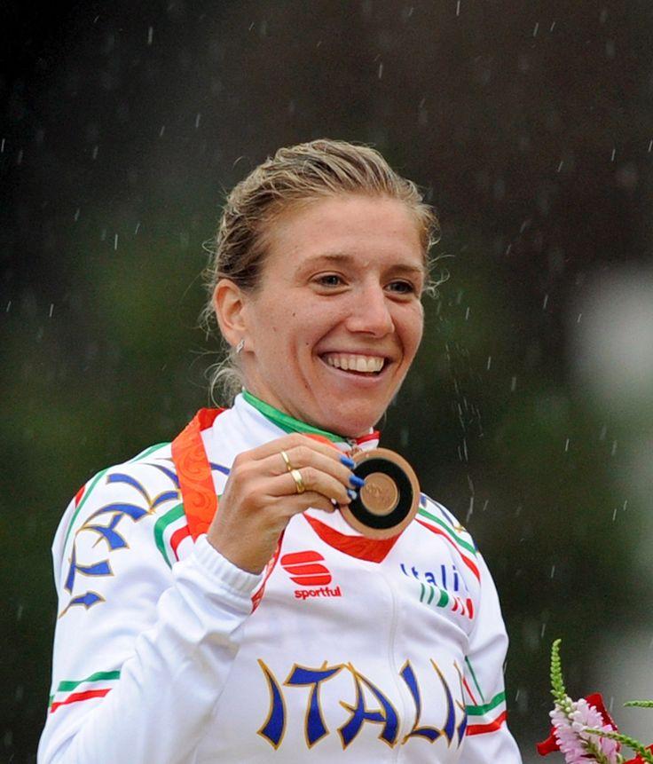 Tatiana Guderzo-Pechino 2008- BRONZO:Ciclismo-Corsa in linea femminile
