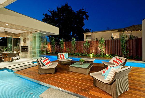 Diseño de Interiores & Arquitectura: Magnífica Casa Contemporánea Inspirada en el Verano