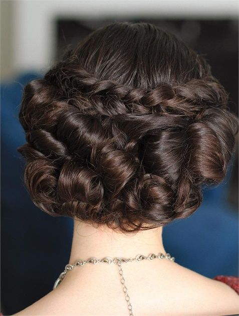 Retro Holiday Upstyle by Beauty & Pin-ups - Hairstyling & Updos - Modern Salon