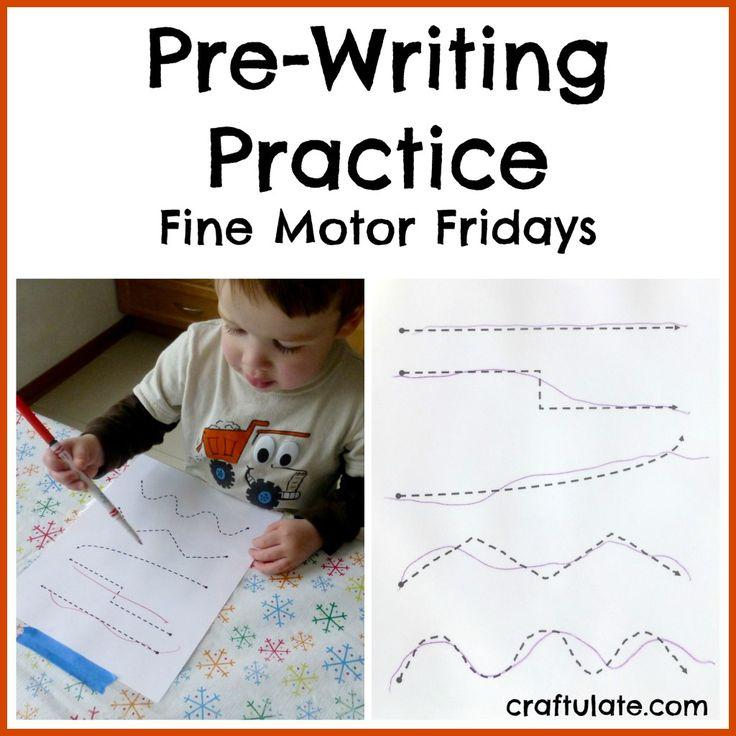 Pre Writing Worksheets